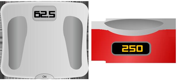Info funcionamiento de una b scula unidades de medida for Cuanto es un cuarto