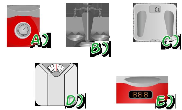 Diferentes tipos de balanzas