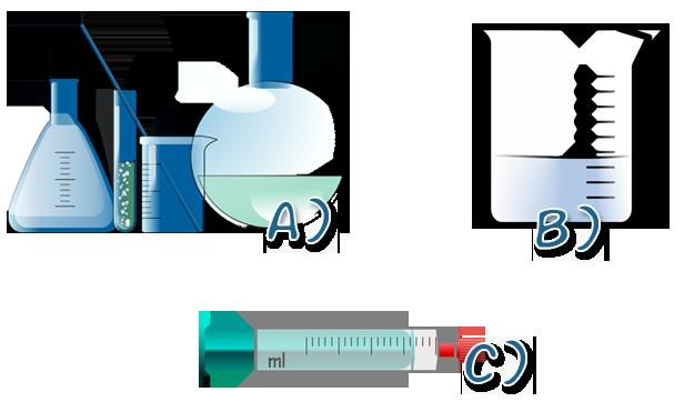 Diferentes tipos de recipientes